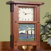 WOOD Magazine Greene & Greene Pendulum Clock Plan & Parts