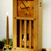 WOOD Magazine Mission Clock w/copper dial Plan & Parts