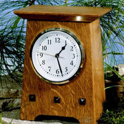 WOOD Magazine Arts & Crafts Mantel Clock Plan & Parts