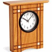 WOOD Magazine Criss-Cross Clock Plan & parts