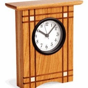 WOOD Magazine Criss-Cross Clock Plan & parts