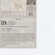 Todesanzeige und Nachruf Schwäbische Zeitung vom 03. März 2018