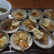 Banh Beo - Little rice cake with shrimps and pork skin