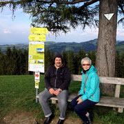 Werner und Helga am Grillparz, Oberösterreich