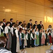 Der kleine Stötten-Chor.