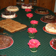 Kuchenbuffet von Hermine Rizzoll