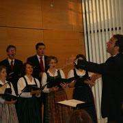 Unser musikalischer Chorleiter Karl Lohninger