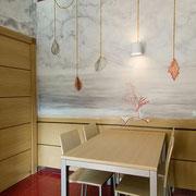 Cucina dipinta;Roma, 2006