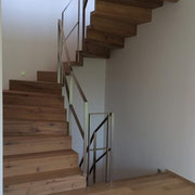 Treppenstufen Eiche