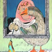 ある赤ん坊と渡り鳥の肖像画