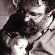 Gian Butturini e la figlia Marta, 1984