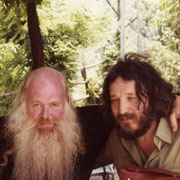 Gian Butturini e lo psichiatra David Cooper - Trieste 1973