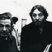 Gian Butturini ed Enrico Berlinguer - Rimini anni '70