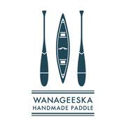 ハンドメイド ウッドパドル工房「WANAGEESKA」ロゴデザイン