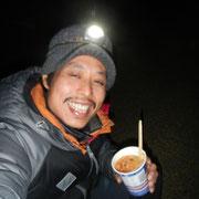 年越しは湯河原幕岩で年越しカップ麺!