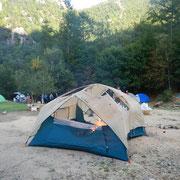 廻り目平クリーンクライミングにて、テント内でバーナーを使う危険性について(9/28)
