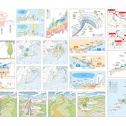 「岳人」2015年11月号〜「実践!山の天気を読む」用解説図(一部)