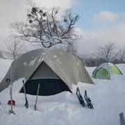 「極キャン2013-4」荷物用のテント