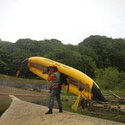 尻別川(尻別橋〜港町)
