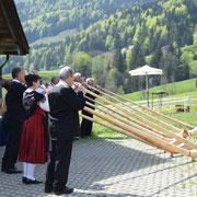 Alphorners Davos Klosters