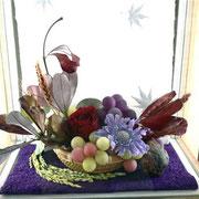 プリザーブドフラワー シーズナルデコレーション 秋の日