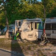 Camp Lucija, etwas eingesperrt