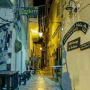 Altstadt Vieste Nachts
