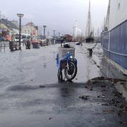 Hochwasser Flensburg 6.1.17