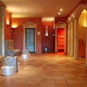 Sauna, Dampfbad und Ruhebereich