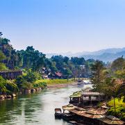 Die Brücke am Kwai River