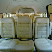 Minivan von Innen