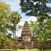 Viele Tempel im Isan sind im Khmer-Stil erbaut worden