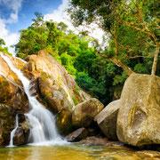 Hin Lad Wasserfall Koh Samu