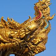 Vergoldeter Tempel