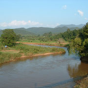 Pai River - Fluss in Mae Hong Son