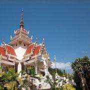 Wunderschöne Tempel in Nong Khai