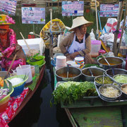 Floating Marketin in Songkhla