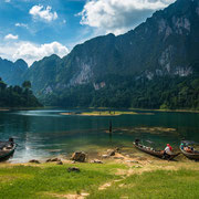 Cheo Lan lake - Khao Sok National Park