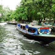 Fähre durch die Kanäle Bangkoks