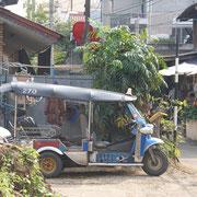 Tuk Tuk in der Altstadt Chiang Mais