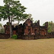 Khmer Tempel Prasat Pueai Noi