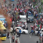 Bangkok: Proteste im Jahre 2010