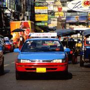 Taxi fahren in Bangkok