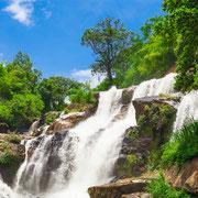 Mae Klang Wasserfall im Doi Inthanon Nationalpark.