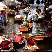 Schwimmender Markt - Damnoen Saduak