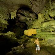 Die Nam Talu Höhle.