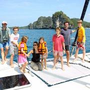 Cataleya - Segelkreuzfahrt Andamanen See