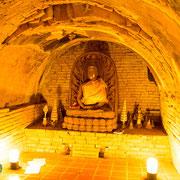 Alte Buddhafiguren Wat Umong