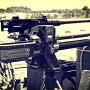 Großkalibriges 50 MG namens M2 (Browning)