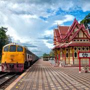 Bahnhof in Hua Hin